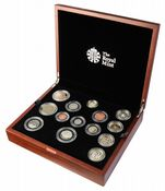 2015 Royal Mint Premium Proof Set